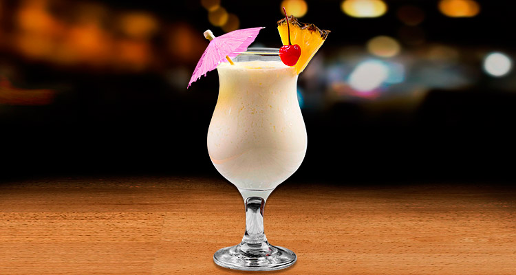 Receta de Piña Colada con Tequila