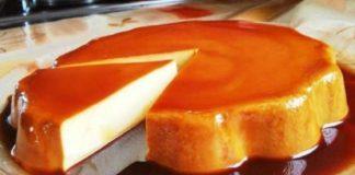 Receta fácil de flan casero en el microondas