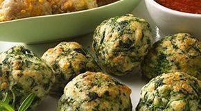 Recetas-fáciles-de-albóndigas con espinacas