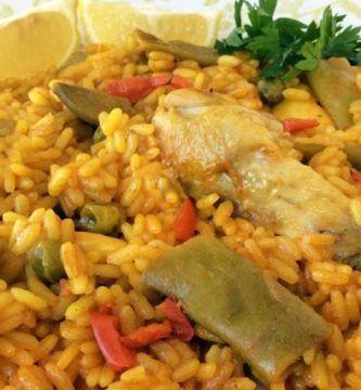 arroz con pollo fácil