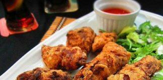 recetas fáciles de pollo frito