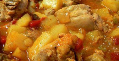 recetas fáciles de pollo guisado