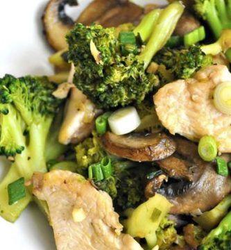 recetas faciles de pollo con verduras