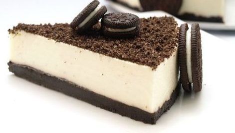 TARTA de CHOCOLATE BLANCO y OREO