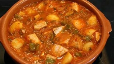 Photo of Marmitako con Salsa Vizcaina