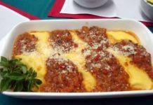 Como hacer polenta con carne