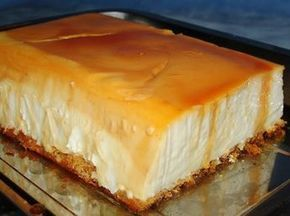 Photo of Flan de Queso con Galletas