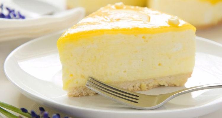 Tarta de Limón sin Horno